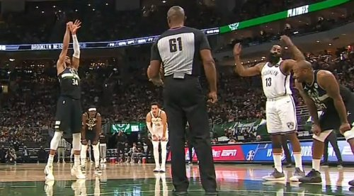 James Harden Is Disgusted By Giannis' Absurdly Slow Free Throw Routine
