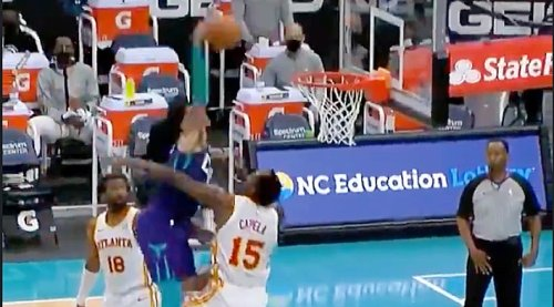 Miles Bridges Had The Dunk Of The Year On Poor Clint Capela