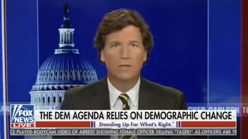 Fox News Won't Fire Tucker Carlson Over 'White Replacement' Segments
