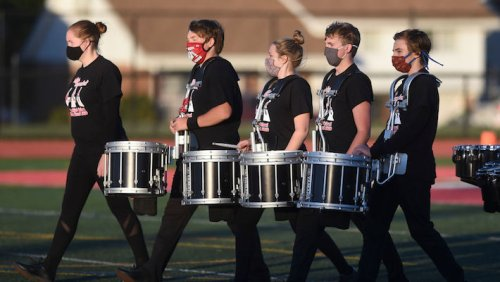 A High School Band Designed A COVID-Safe Way To Have Indoor Practice