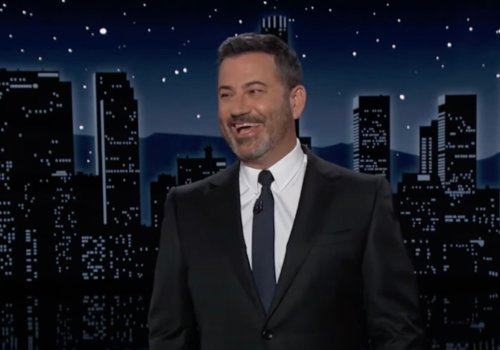 Jimmy Kimmel Is Amused That 'Mouth Rushmore' Trump Still Won't Concede