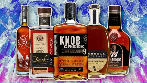 The 10 Best Bourbon Whiskeys To Drink On The Rocks