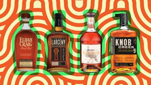 A Blind Taste Test Of 8 Bourbon Whiskeys That Hit 110 Proof Or Higher