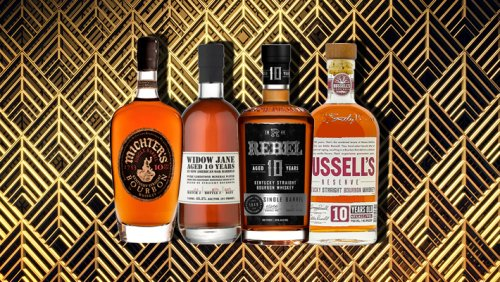 We Blind Taste-Tested 10-Year-Old Bourbons To Find The Best Sipper