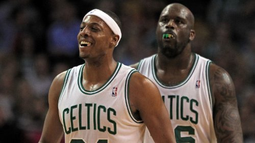 Shaq Mentioned Paul Pierce And Immediately Started Cracking Up