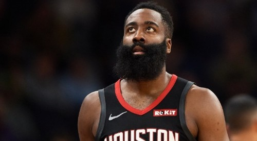 James Harden Offers Honey Buns And Rolex's For Landry Shamet's Jersey