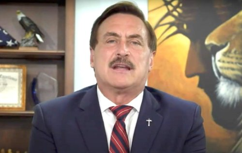 Mike Lindell Was Asked Why God Let Trump Be Booted From White House