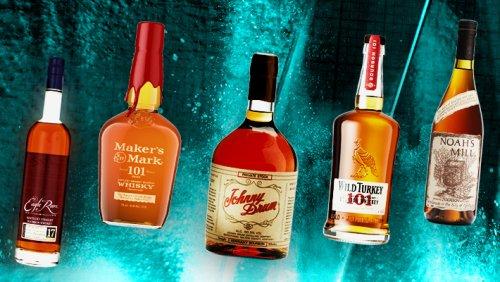 We Blind Taste-Tested 10 High-Proof Bourbon Whiskeys -- Here's Who Won