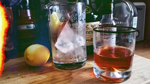 It's A Great Weekend To Make Your First Sazerac -- Here's Our Recipe