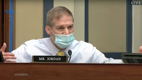 Jimmy Kimmel Lets Loose On 'Meathead' Jim Jordan For Attacking Fauci