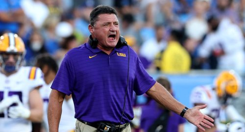 Ed Orgeron Reportedly Hit On An LSU Official's Pregnant Wife