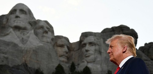 Trump's 'Garden Of Heroes' Statue List Has Some Bizarre Names On It