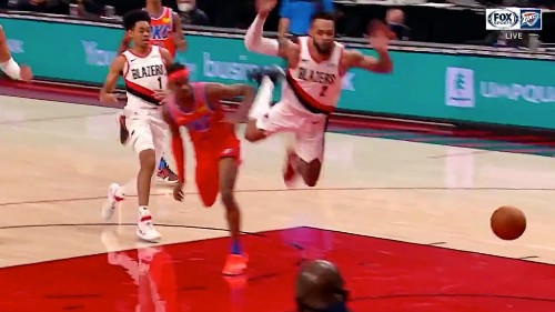 Gary Trent Jr. Gave Us The Flop Of The Year Against The Thunder