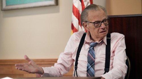 Report: Legendary TV Host Larry King Hospitalized With Coronavirus