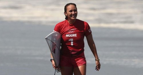 Native Hawaiian Carissa Moore wins first-ever Olympic gold medal for surfing