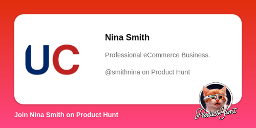 Nina Smith's profile on Product Hunt   Product Hunt
