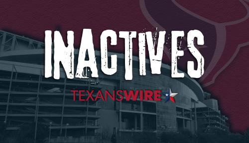 Texans vs. Browns inactives: DE Jonathan Greenard out