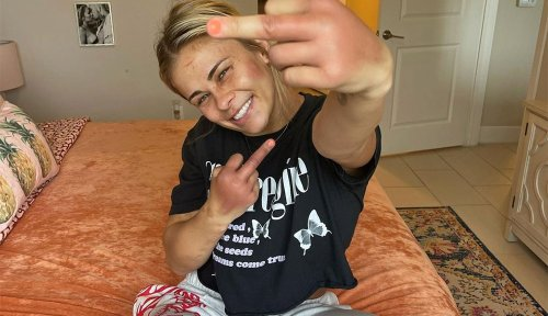 'Guess what b*tches'? Paige VanZant is 'still smiling' after BKFC 19 loss to Rachael Ostovich