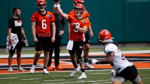 Joe Burrow was perfect in 7-on-7 drill at Bengals OTAs on Tuesday