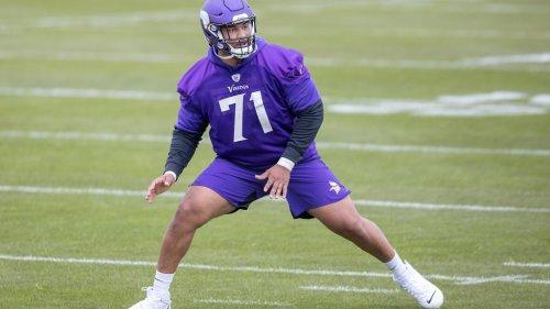 Vikings OT Christian Darrisaw listed as Minnesota's X-factor