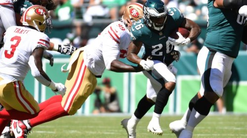 Eagles snap count vs. 49ers: Breakdown, observations from Week 2