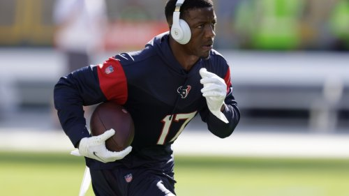 Texans WR Anthony Miller expected back against the Browns