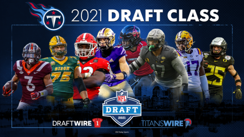 Titans' 2021 NFL draft haul ranked in middle of NFL