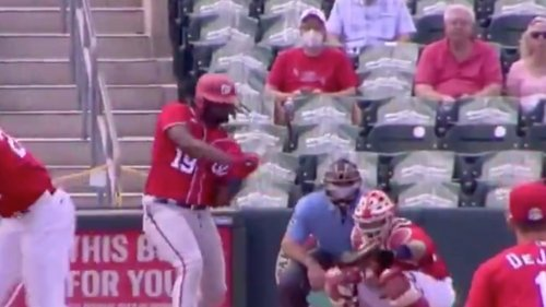 Cardinals announcer roasts Angel Hernandez over questionable call in spring training opener