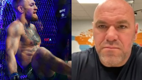 Dana White: Conor McGregor has 'chronic arthritis in his ankles,' asked NAC about tape prior to UFC 264