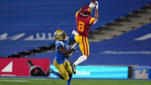 Amon-Ra St. Brown's versatility at wide receiver is a big asset for the Lions