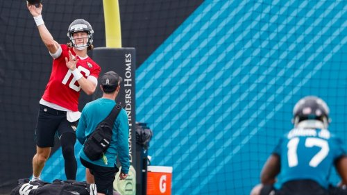 PHOTOS: Trevor Lawrence, Tim Tebow, and more at Jags minicamp