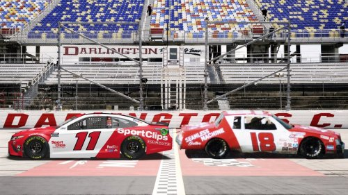 See NASCAR's throwback paint schemes for the 2021 Goodyear 400 at Darlington