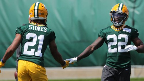 Best photos from first day of Packers rookie minicamp in 2021