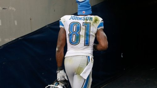 Calvin Johnson's ongoing refusal to mend fences with the Lions cools off his Hall of Fame induction buzz