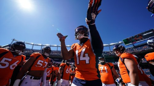 Courtland Sutton's a fan of this fan-made Broncos uniform concept
