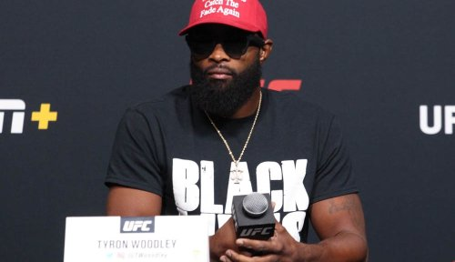 Tyron Woodley answers 'Black lives matter' to every question at UFC on ESPN+ 36 press conference