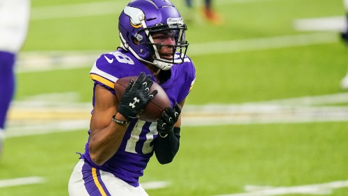 Can Justin Jefferson break the NFL's rookie record for receiving yards?