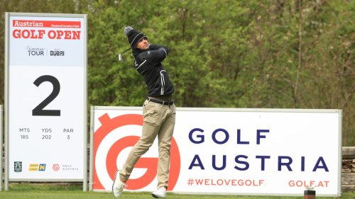 Thomas Detry's final round at the Austrian Open was colorful. The story? 'It might take a while.'
