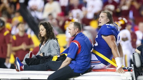 Giants' Nick Gates undergoes successful surgery, expected to make full recovery