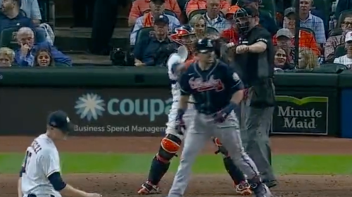 Nearly every missed call from umpire Chris Conroy favored the Astros in Game 1 of the World Series