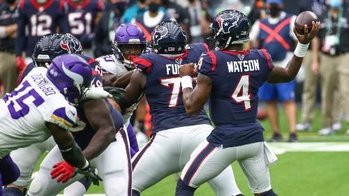 Odds for where Texans trade QB Deshaun Watson: Vikings aren't among favorites