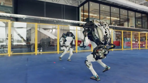 The Boston Dynamics robots have learned how to dance and it's terrifying
