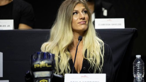 Kayla Harrison responds to Dana White: 'I really am gonna be the greatest of all time. He's gonna see.'