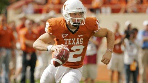 Colt McCoy praises both Texas QB's, offers advice amid position battle