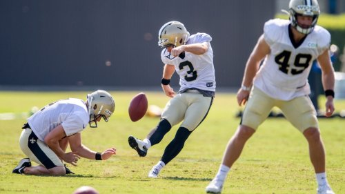 Saints' projected special teams starters, backups before the NFL draft