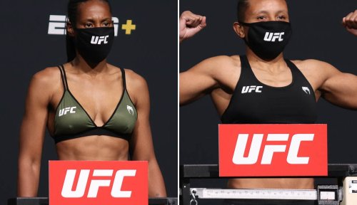 Zarah Fairn vs. Josiane Nunes scrapped from UFC on ESPN 22 after 11-pound weight discrepancy