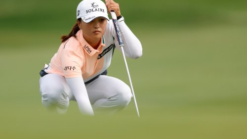 Jin Young Ko builds three-shot lead at foggy Cognizant Founders Cup; second round suspended