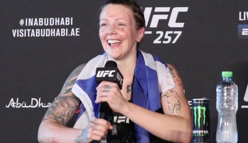 Back in win column, Joanne Calderwood wants top-five opponent after UFC 257 win