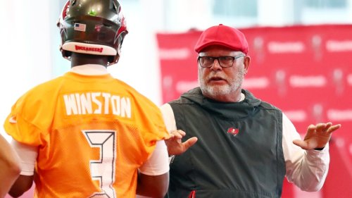 Bruce Arians talks 'hard' decision to move on from Jameis Winston