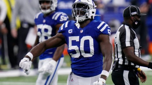 Colts free agent DE Justin Houston had his visit with the Ravens